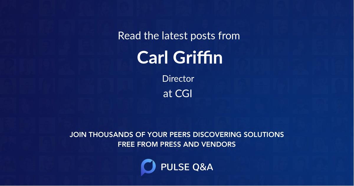 Carl Griffin