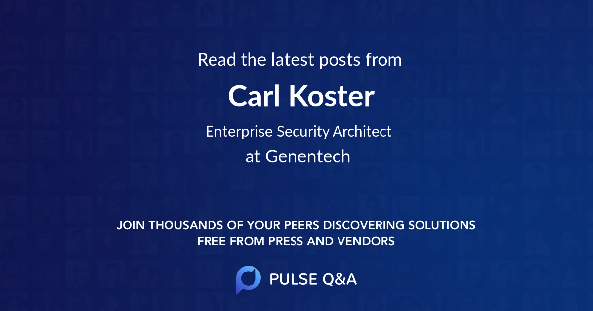 Carl Koster