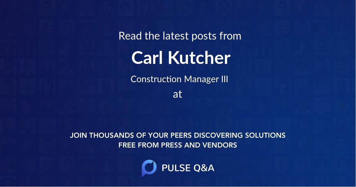 Carl Kutcher
