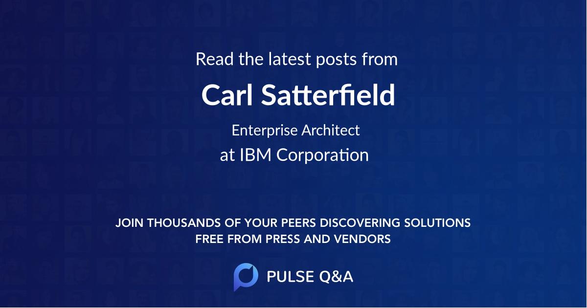 Carl Satterfield