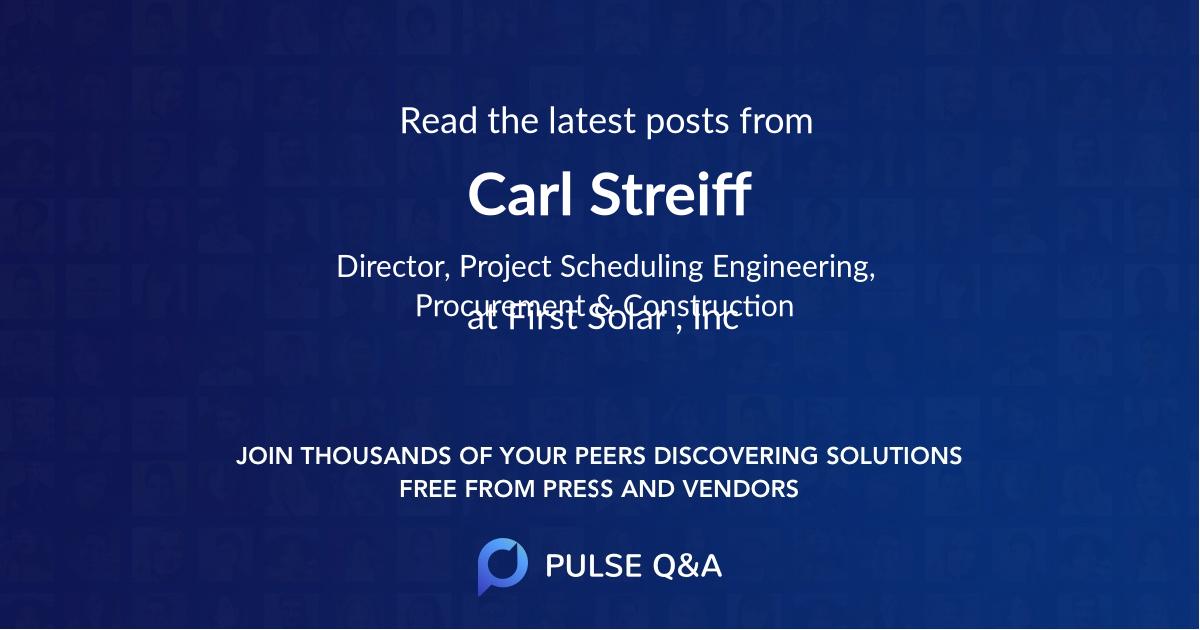 Carl Streiff
