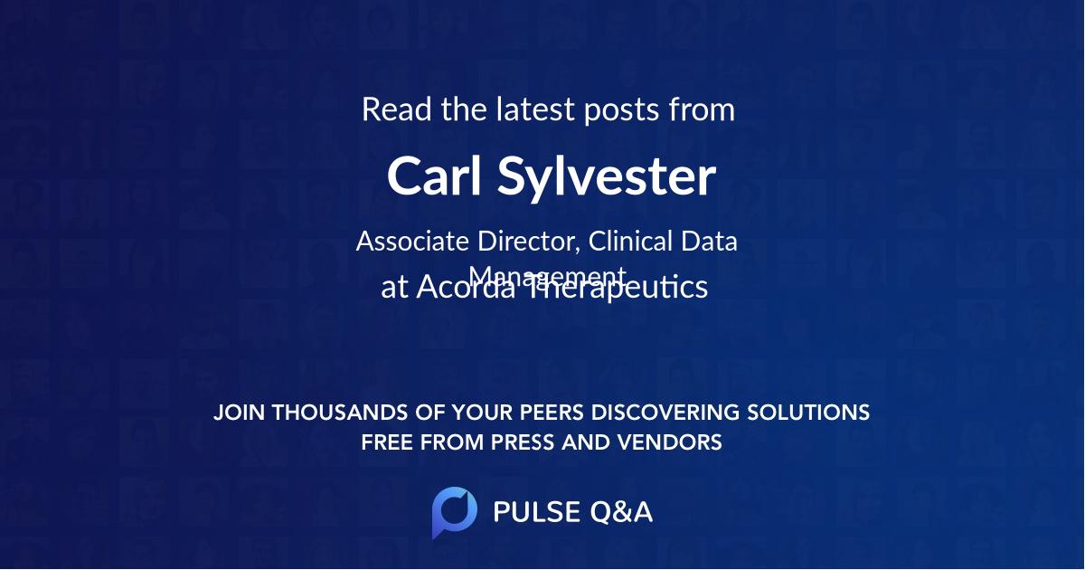 Carl Sylvester