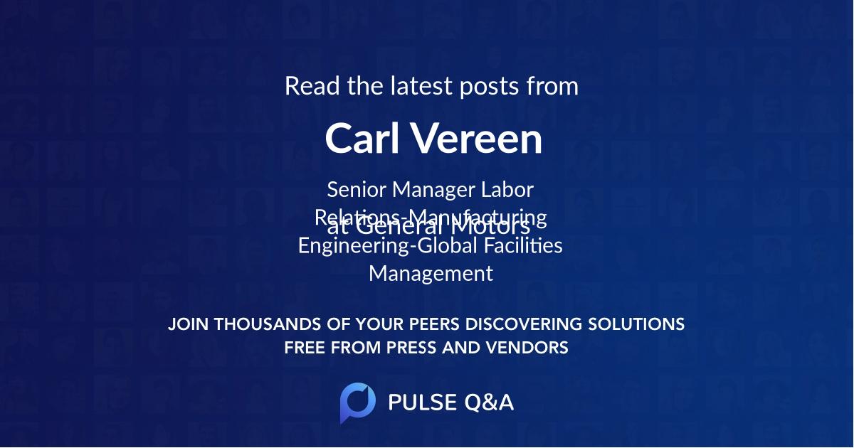 Carl Vereen