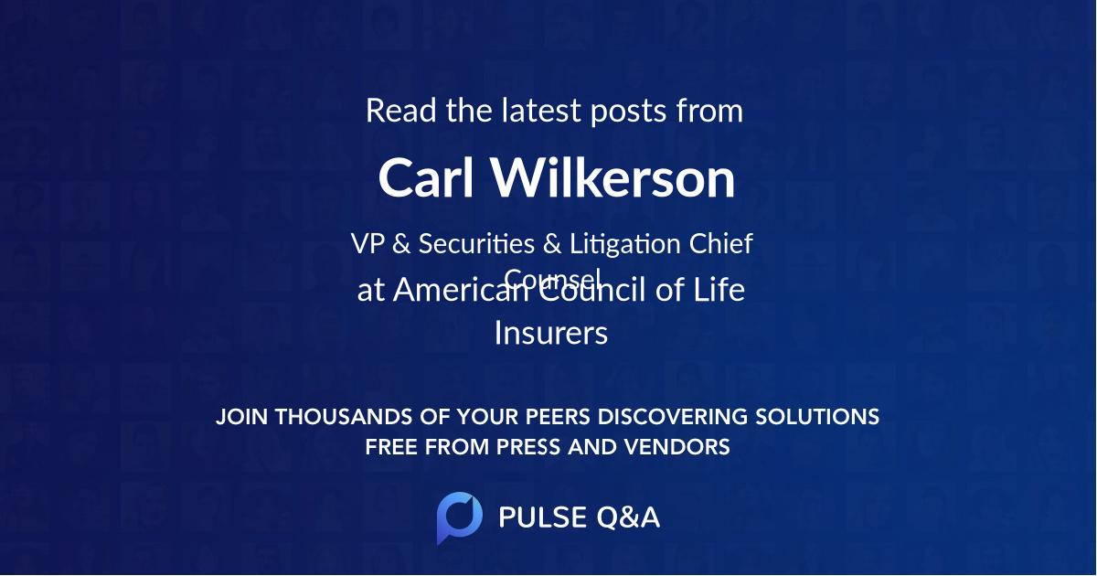 Carl Wilkerson