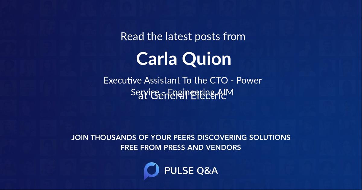 Carla Quion