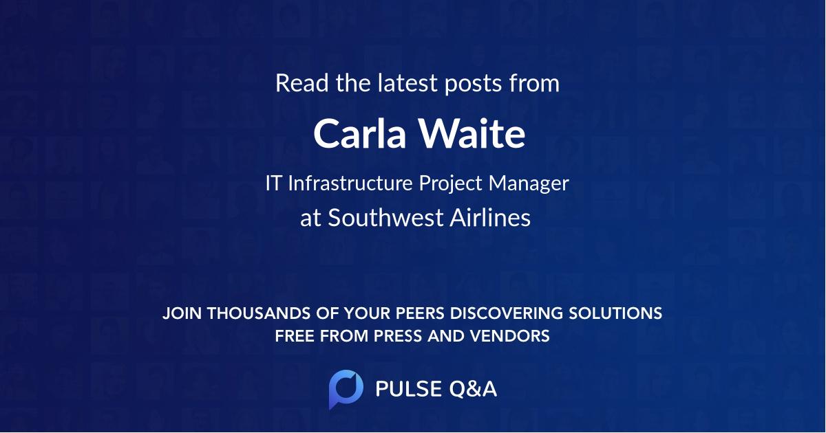 Carla Waite