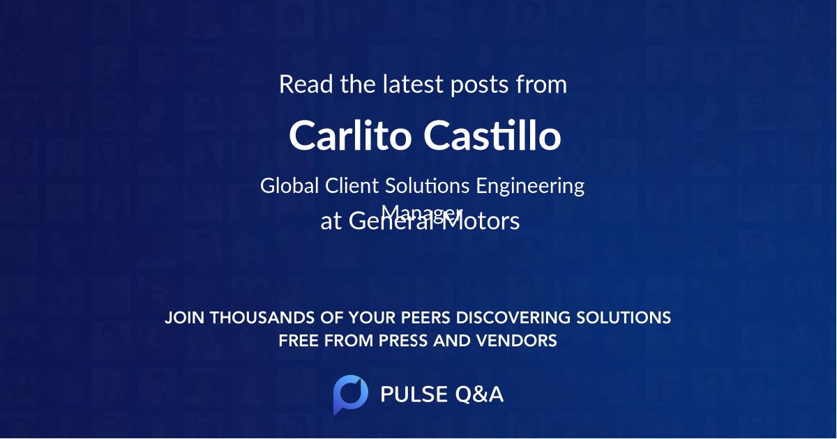 Carlito Castillo