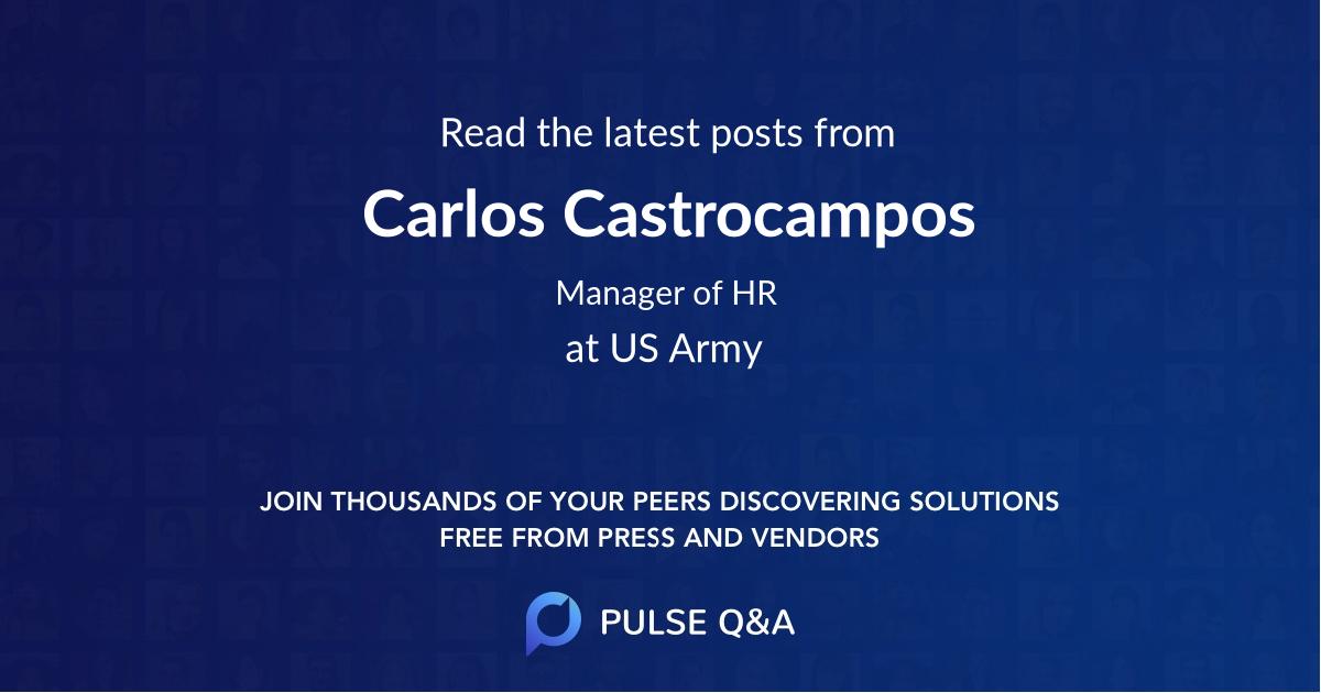 Carlos Castrocampos