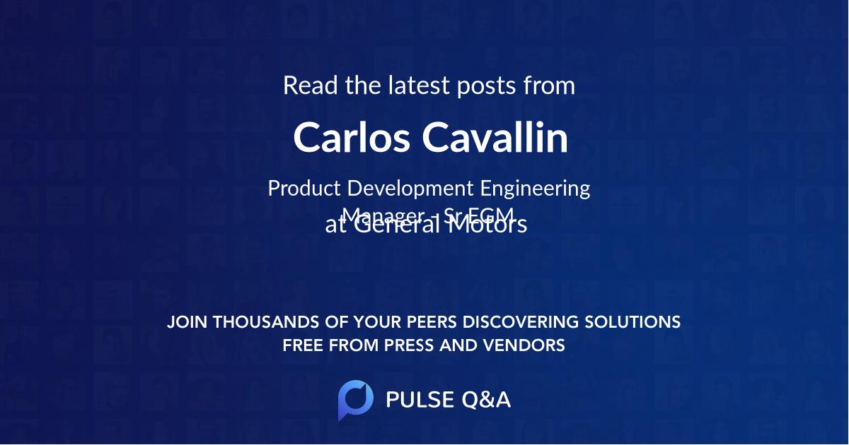 Carlos Cavallin