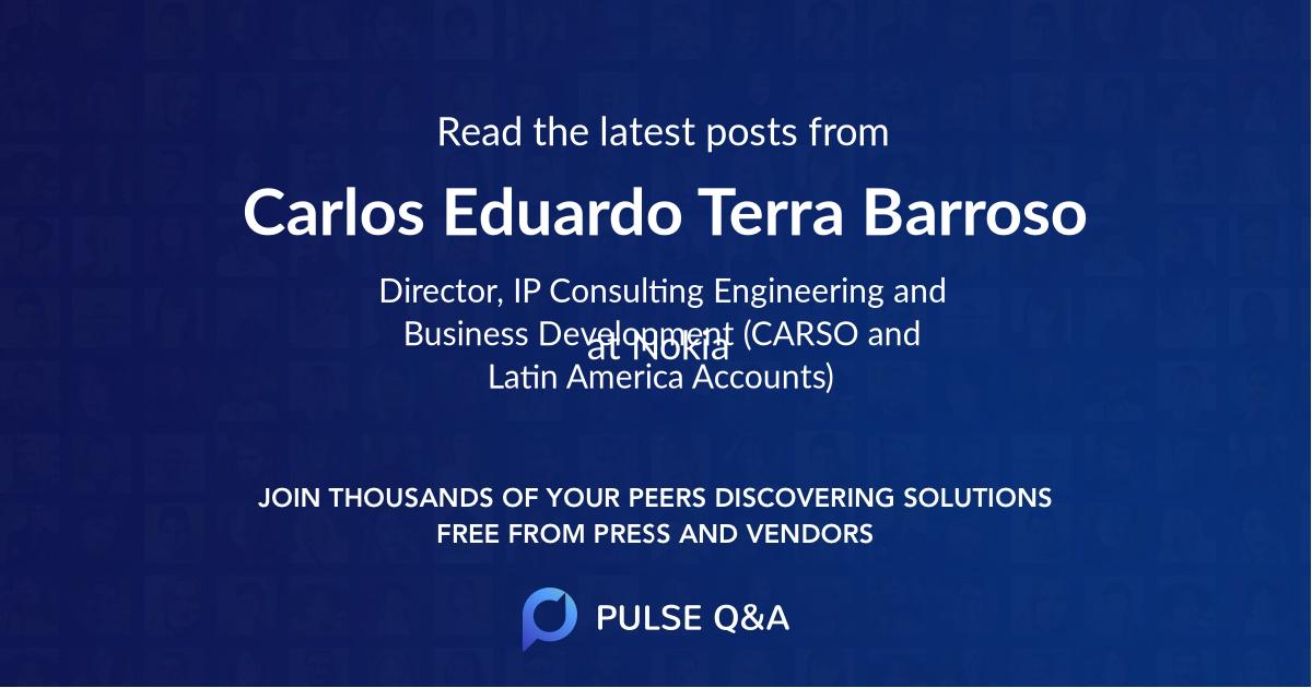 Carlos Eduardo Terra Barroso