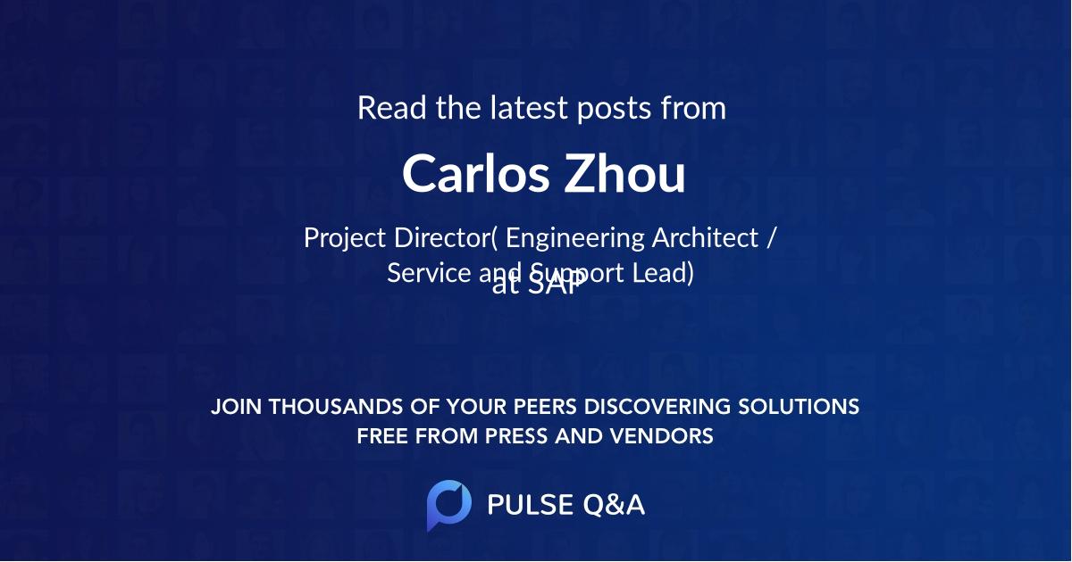 Carlos Zhou