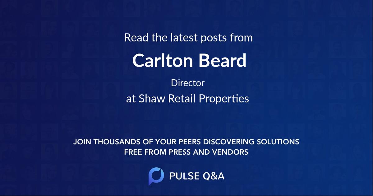 Carlton Beard