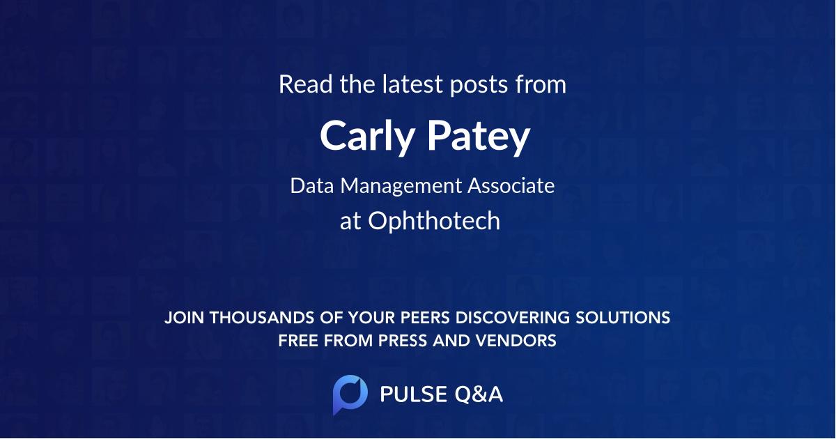 Carly Patey