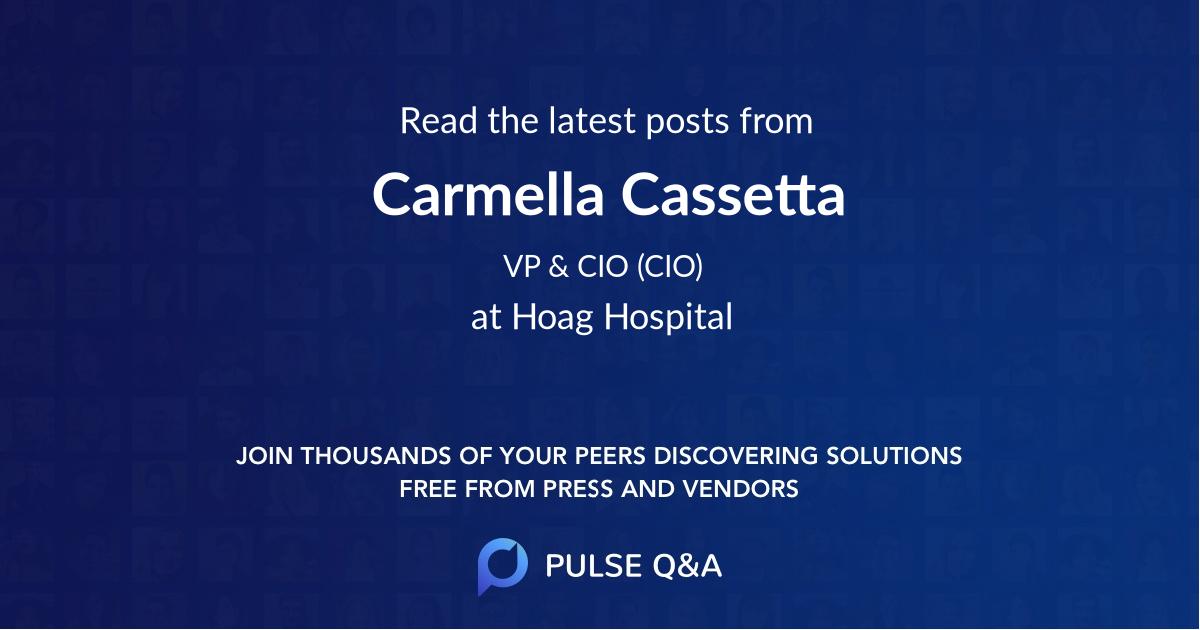 Carmella Cassetta