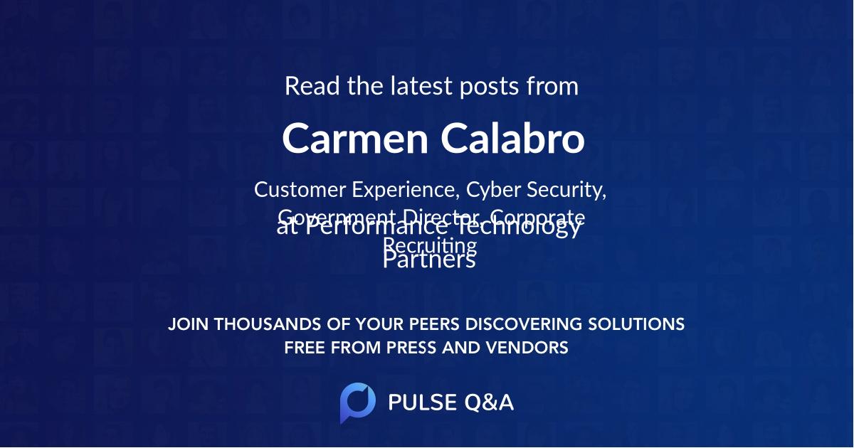 Carmen Calabro