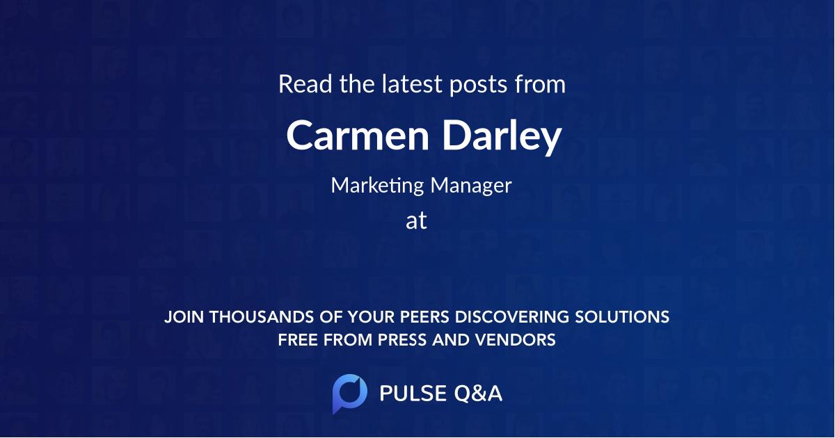 Carmen Darley