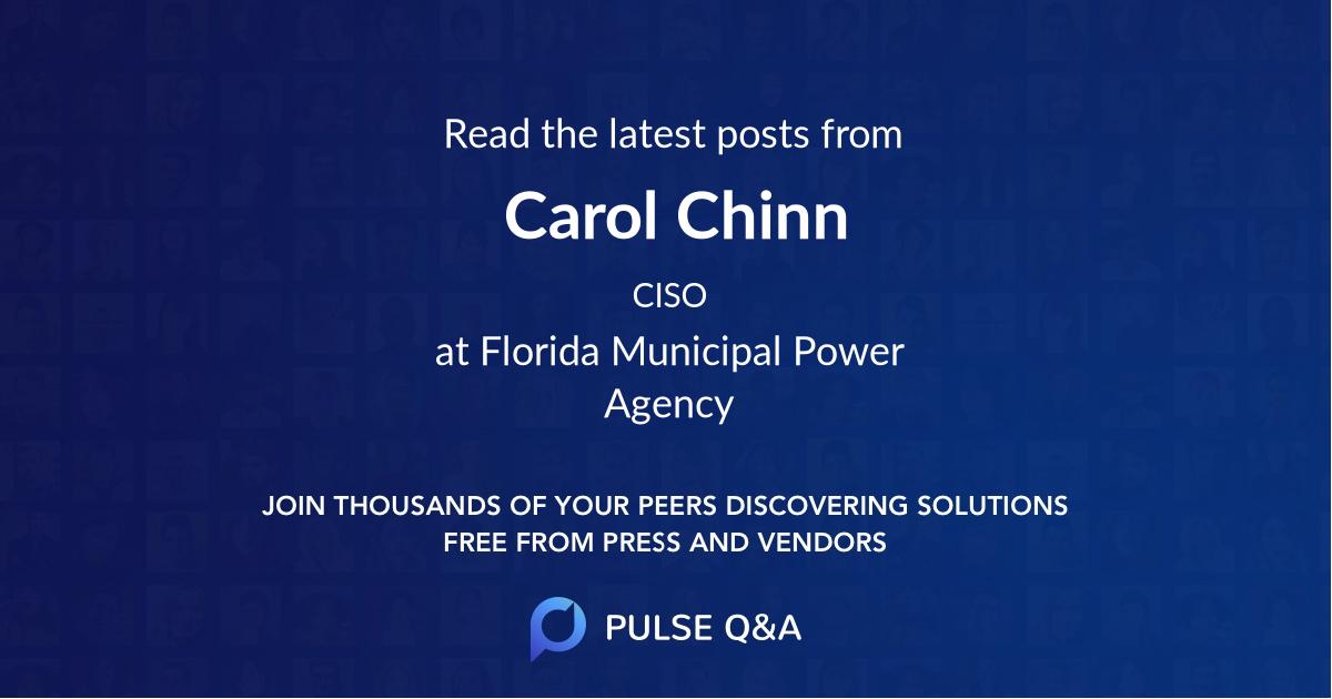 Carol Chinn