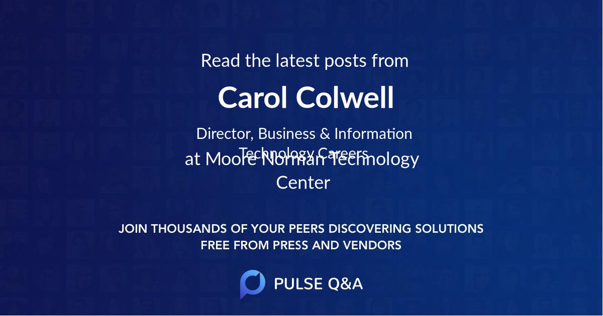 Carol Colwell