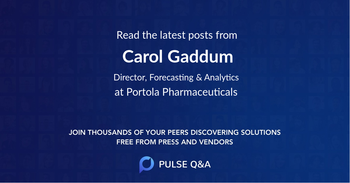 Carol Gaddum