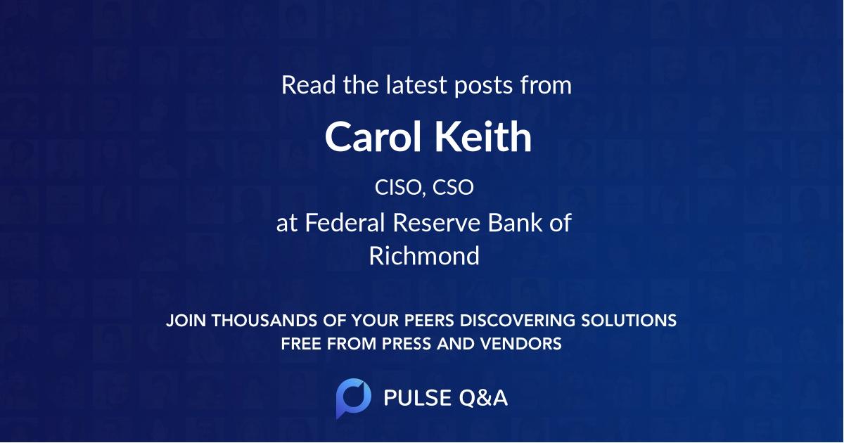 Carol Keith
