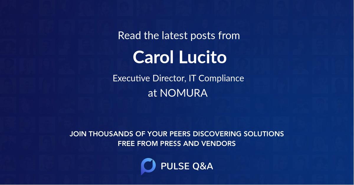 Carol Lucito
