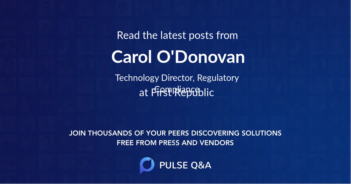 Carol O'Donovan