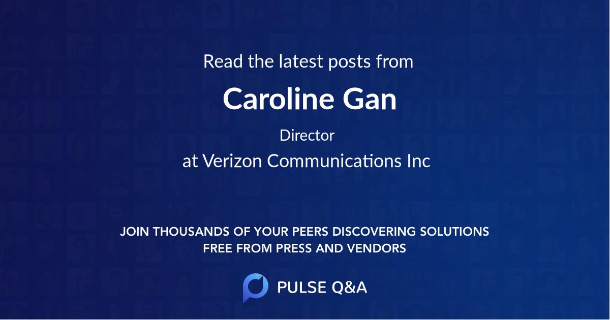 Caroline Gan