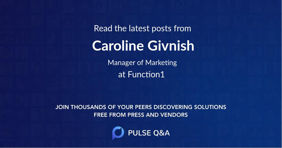 Caroline Givnish