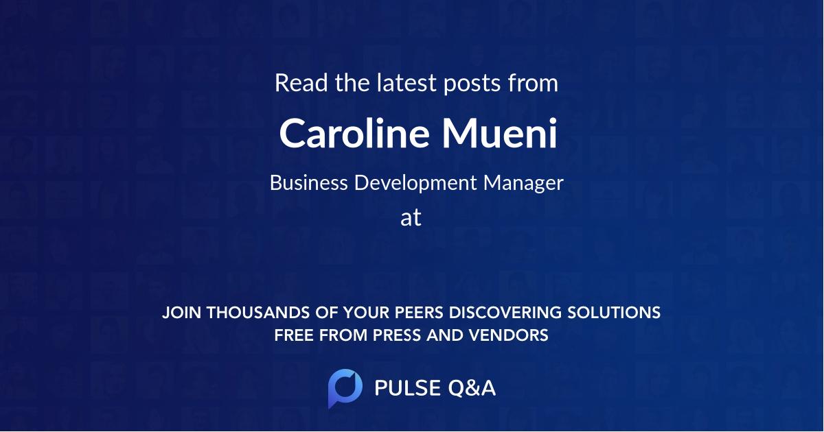 Caroline Mueni