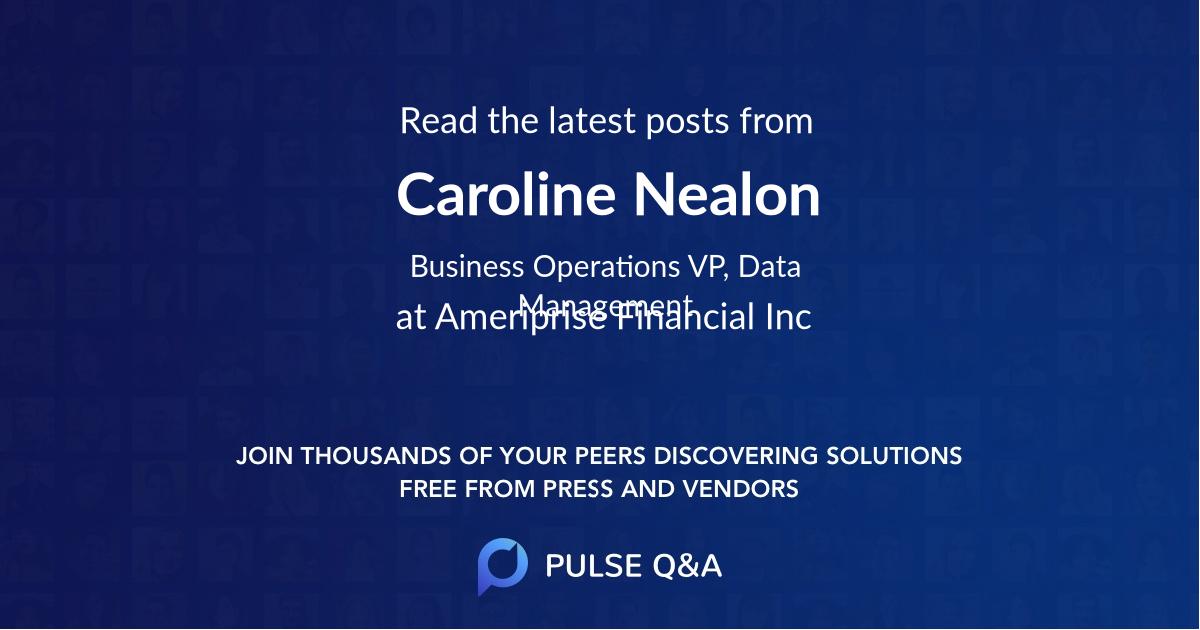 Caroline Nealon