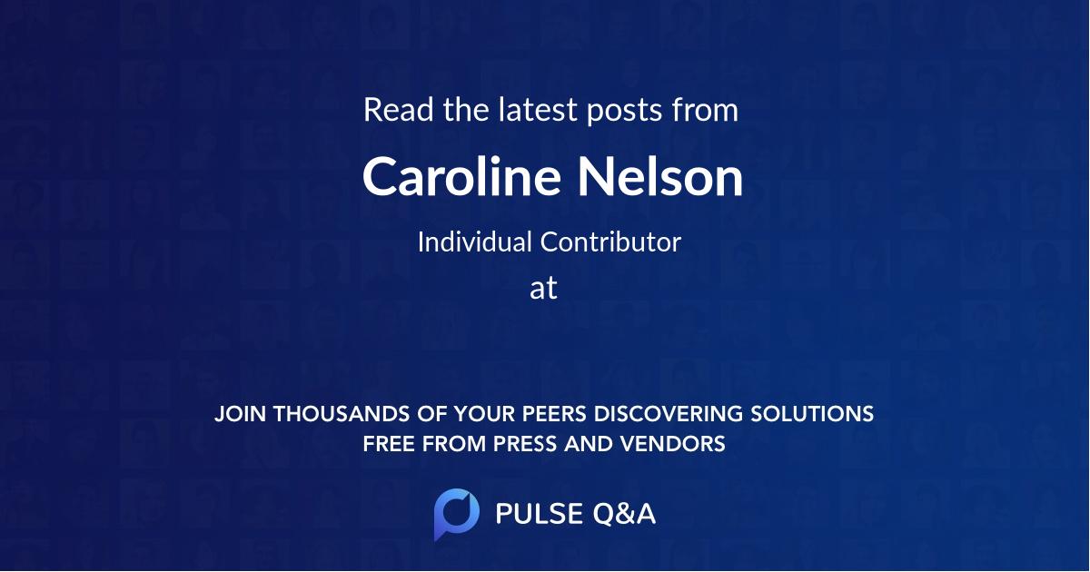 Caroline Nelson