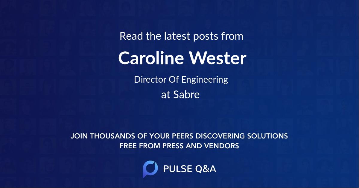 Caroline Wester