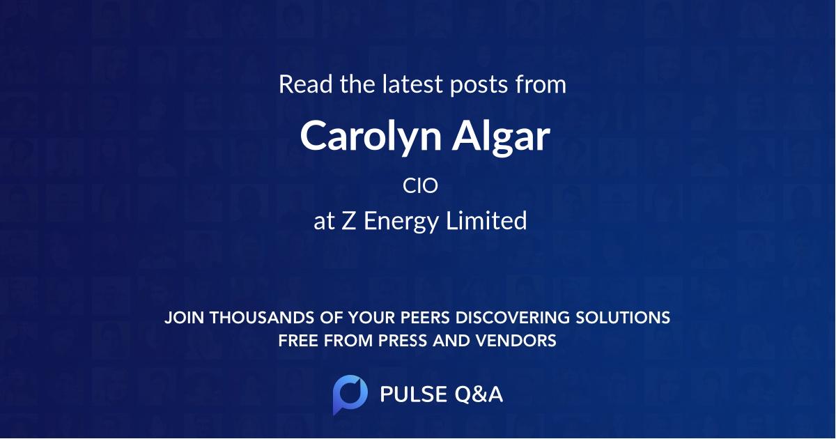 Carolyn Algar