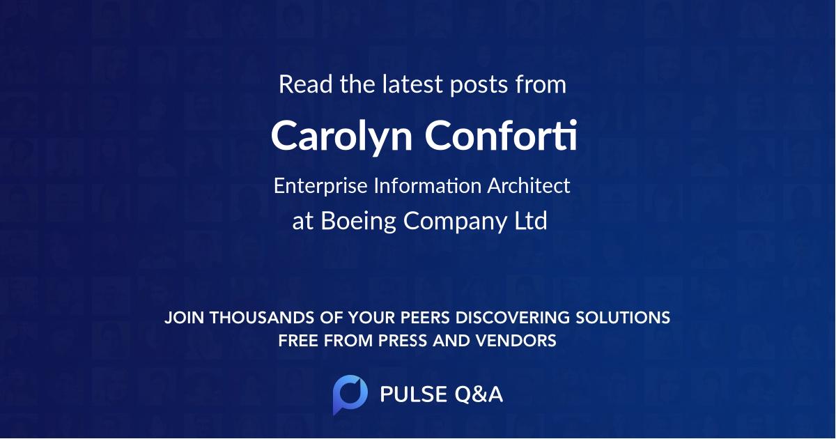 Carolyn Conforti