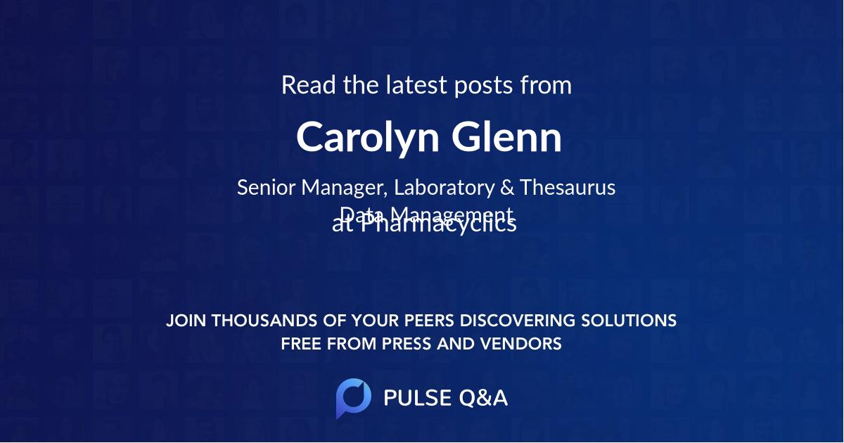 Carolyn Glenn