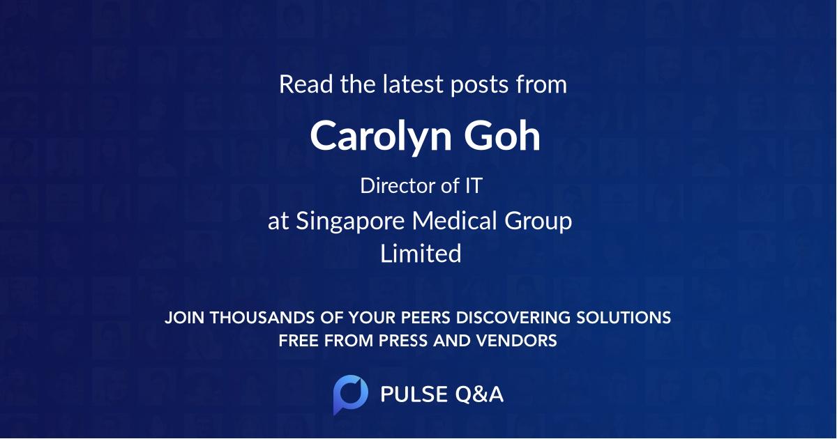Carolyn Goh