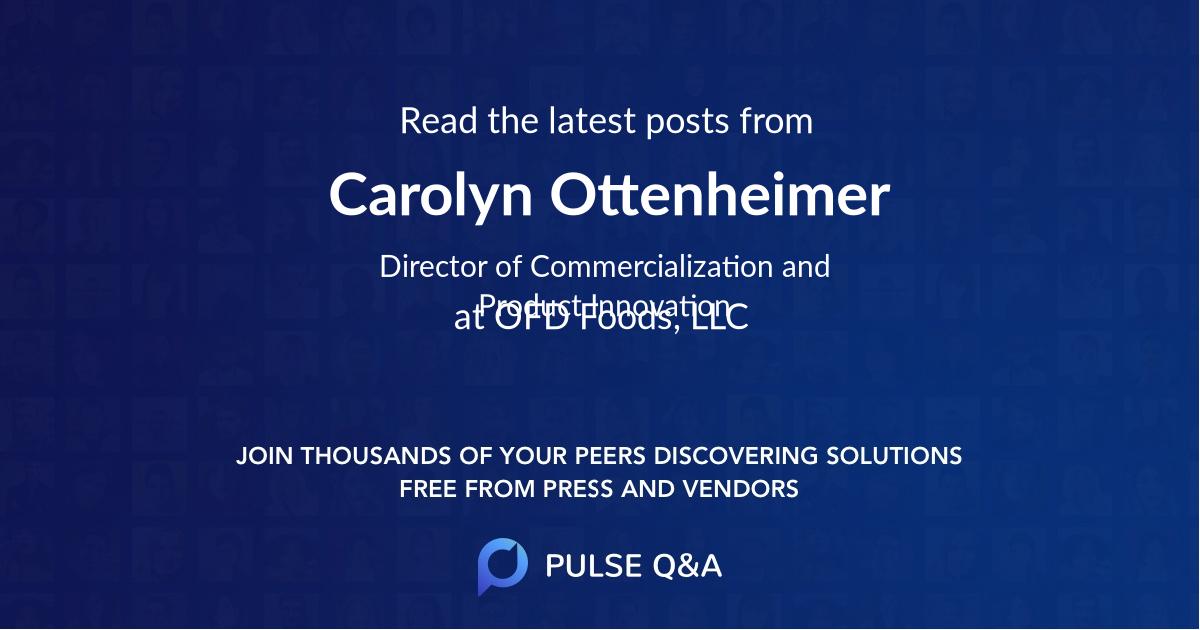 Carolyn Ottenheimer