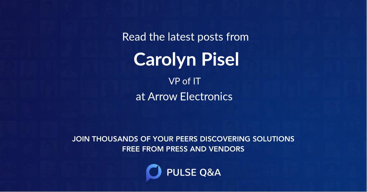 Carolyn Pisel