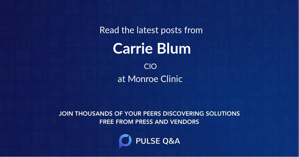 Carrie Blum