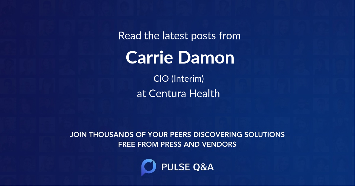 Carrie Damon