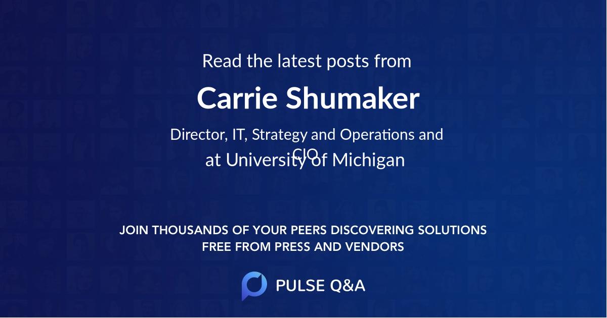 Carrie Shumaker