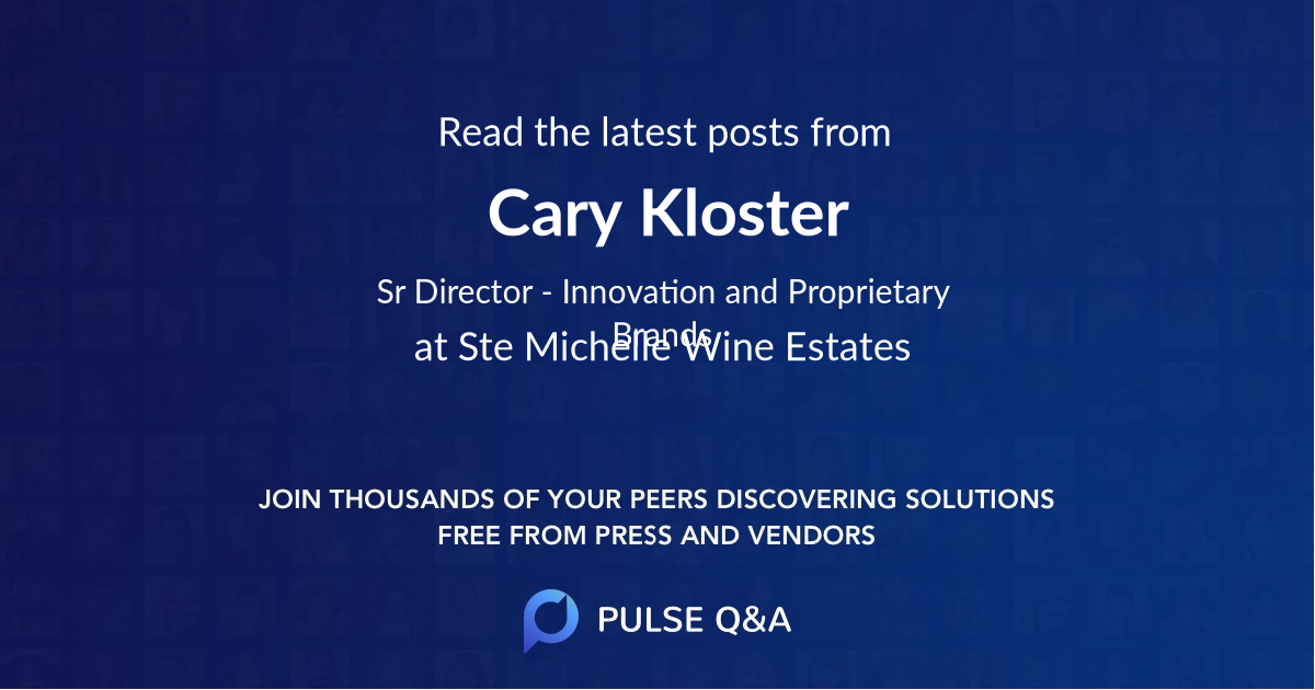 Cary Kloster