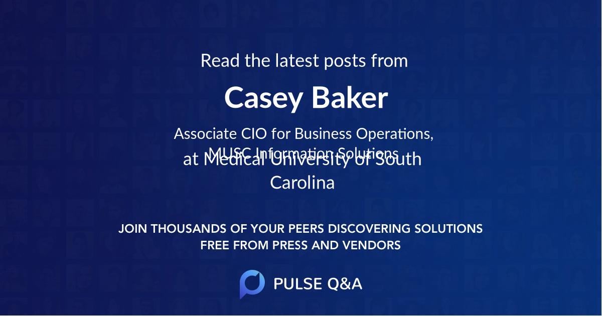 Casey Baker