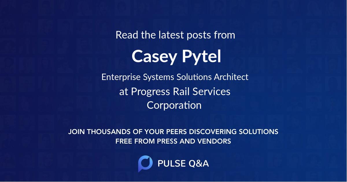 Casey Pytel