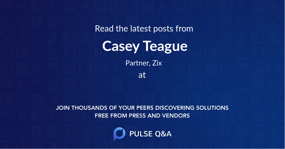Casey Teague