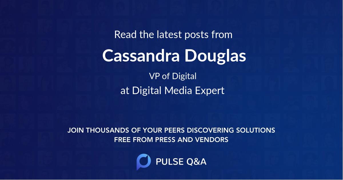 Cassandra Douglas