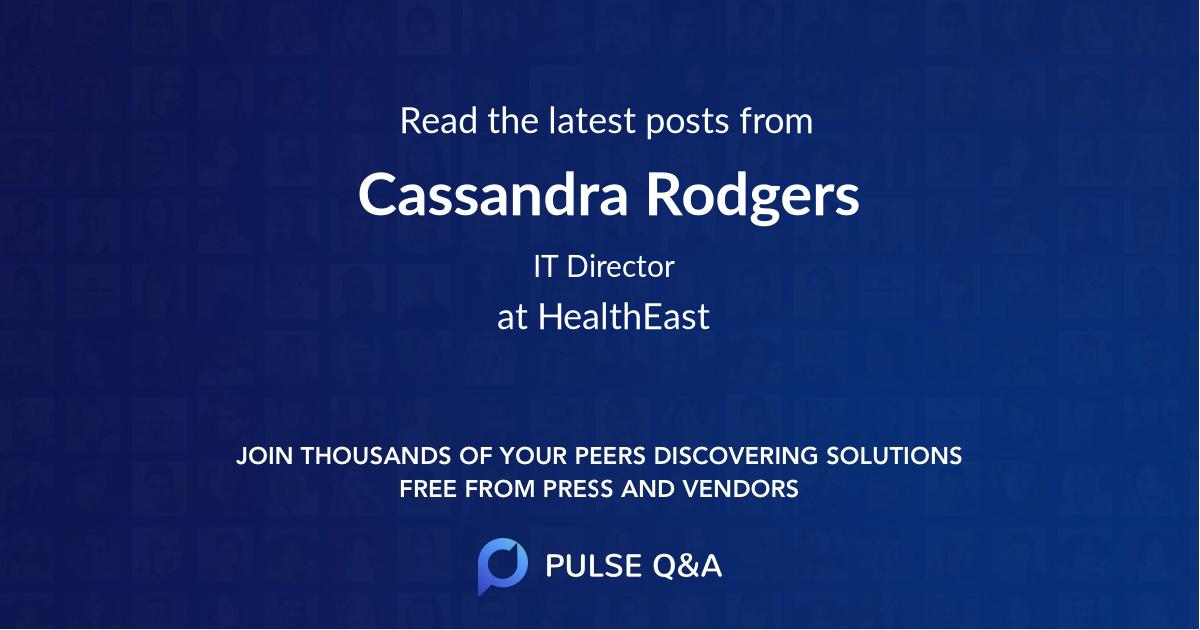 Cassandra Rodgers