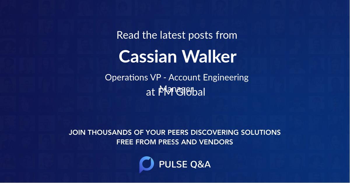 Cassian Walker