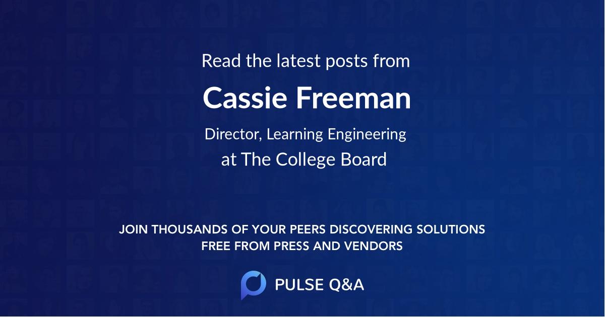 Cassie Freeman
