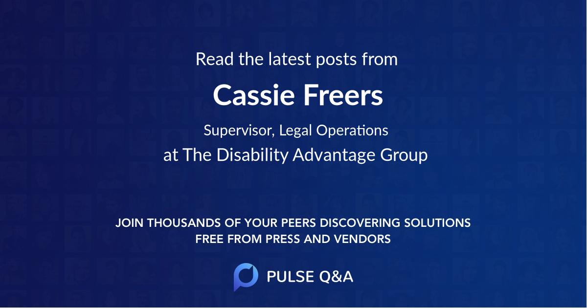 Cassie Freers